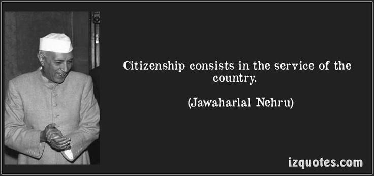 Jawaharlal Nehru Quote