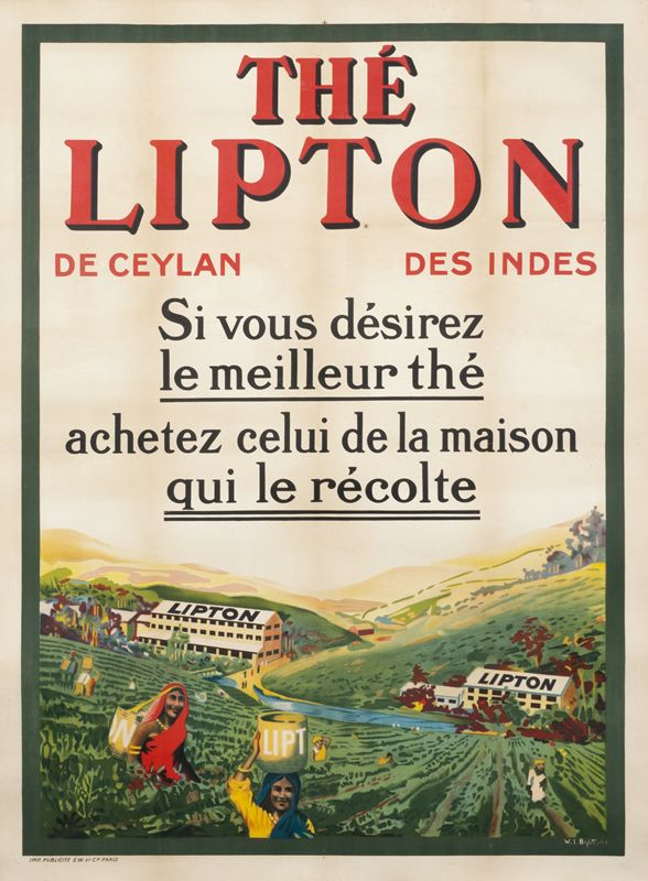 Bagdatopoulos, William Spencer The Lipton (Lipton Tea) (1920 ca.)