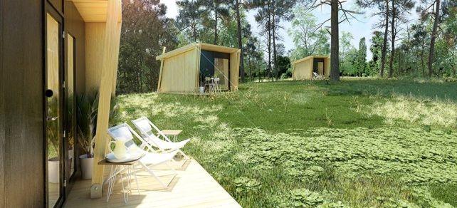 Vivood crea la casa transportable y desmontable más sencilla