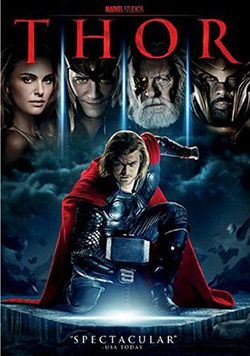 In this action film from Marvel, Thor, the son of Norse god Odin, watches over both mortals and immortals. Thor will also reign in Marvel's upcoming THE AVENGERS. Studio: Walt Disney Studios Home Ente
