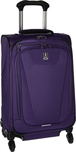 Travelpro Maxlite 4 Expandable 21 Inch Spinner Suitcase Purple