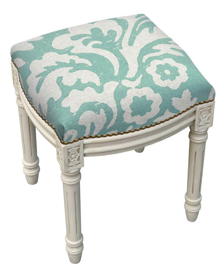 Mackenzie Upholstered Vanity Stool Products Pinterest