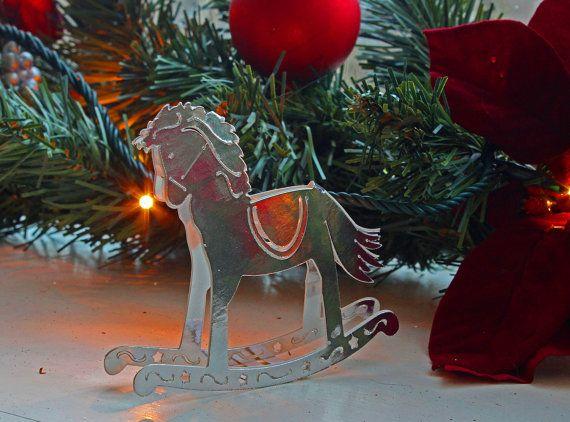 3D SVG Rocking Horse DIGITAL download