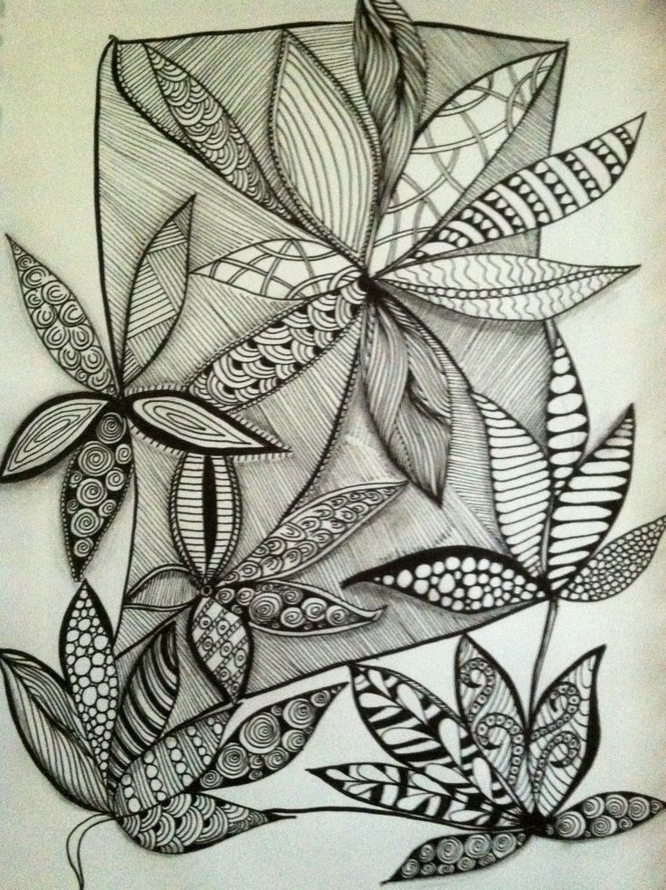flower gardens zentangle tangles - Google Search