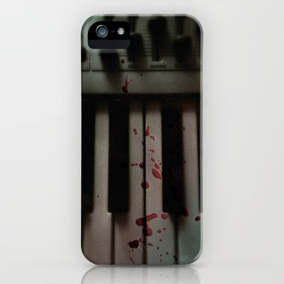 Music.Death.Analog iPhone Case by WASA3I - $35.00