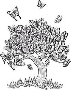 Trees Adult Coloring Pages - Bing images