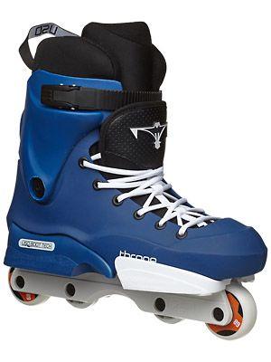 USD Throne Allstar XV '98 Blue Aggressive Skates