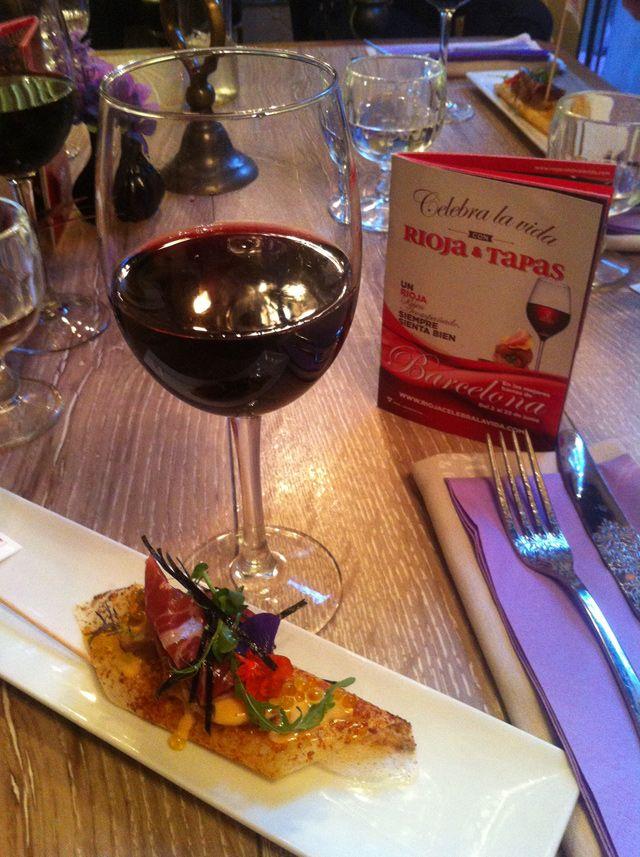 Ruta de tapas con vinos de la Rioja, #RiojaCelebralaVida en 65 bares de Barcelona