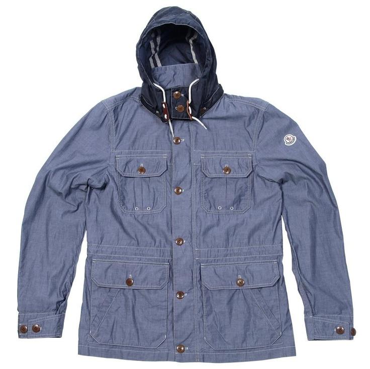 Moncler, Daquin Jacket,  Chambray, 2013