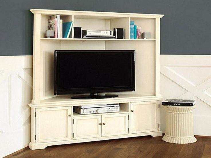 Elegant Corner Media Cabinet
