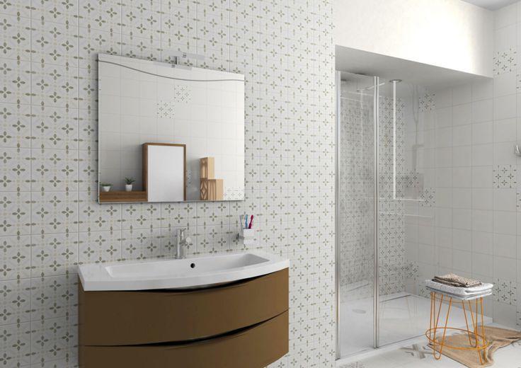 gr s c rame maill decoceram allevi ivory trame d cor. Black Bedroom Furniture Sets. Home Design Ideas