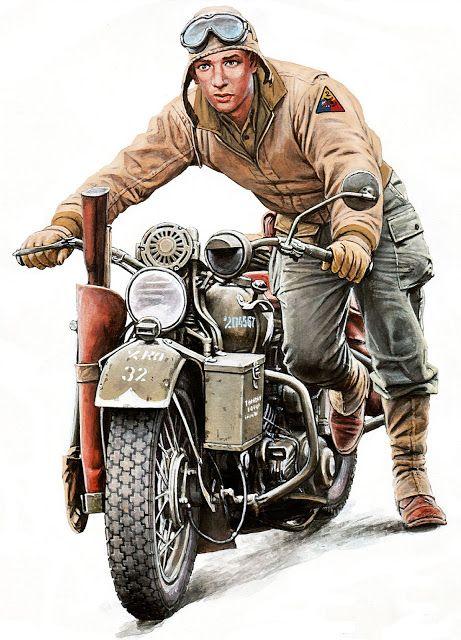 35182+Miniart+US+Soldier+pushing+Motorcycle+%281%29.jpg (461×640)
