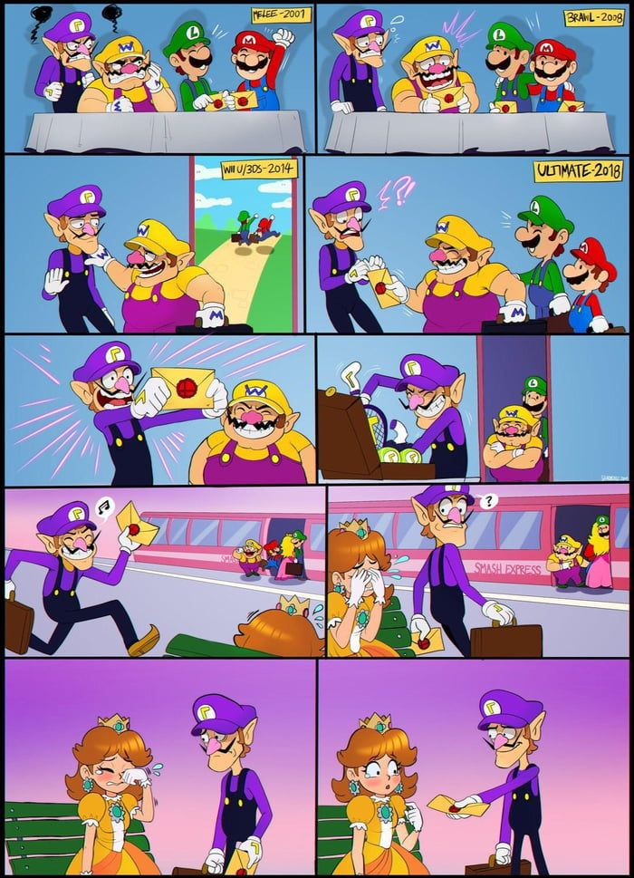 Why Waluigi Is Not In Smash Bros Ultimate Smash Bros Funny