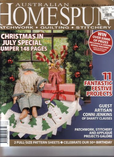 69 best Magazine - Australian Homespun images on Pinterest ... : australian quilt magazines - Adamdwight.com