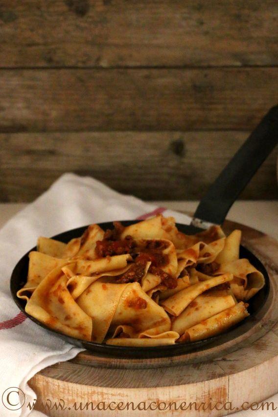 Le ricette del Sor Fattore #3 – Pappardelle con ragù di cinghiale