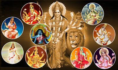 Soup for our Soul: The 9 different avatars of Goddess Durga / Nine colours of nine days / Navratri