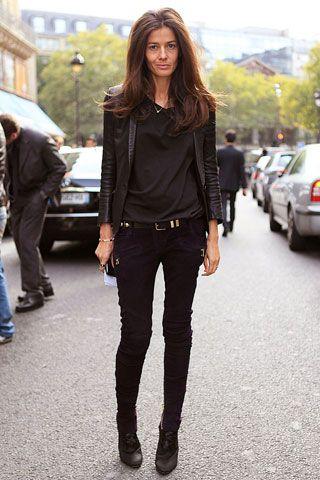 Barbara Martelo, stylist, at Paris Fashion Week