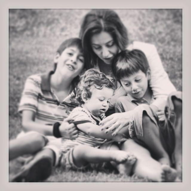 Me and my boys mom love