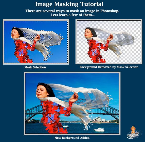 Image Masking Tutorial: There are several ways to mask an image in Photoshop. Lets learn a few of them... https://lnkd.in/biyVHyn