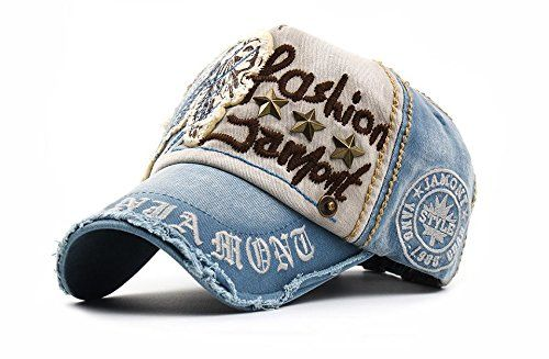 New Autumn Baseball Caps for Men Women Snapbacks Mens Fashion Hats Summer Spring Gorras Casquette (Cowboy Blue Color)