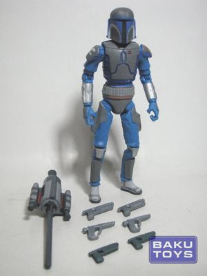 Star Wars 3.75 Mandalorian Warrior TCW