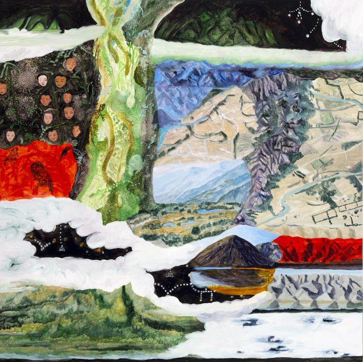 Anna Miles Gallery: Barbara Tuck, Malady Summit, 2014