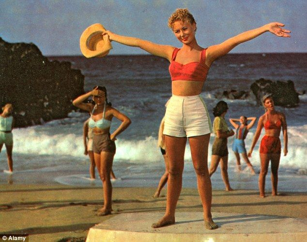 A still of the film South Pacific starring Mitzy Gaynor Bring back the curves