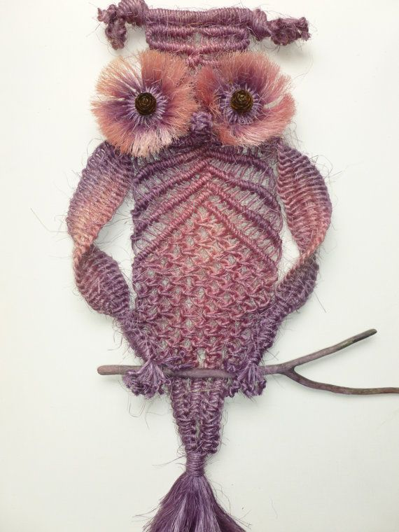Many colours available for #macrame owls