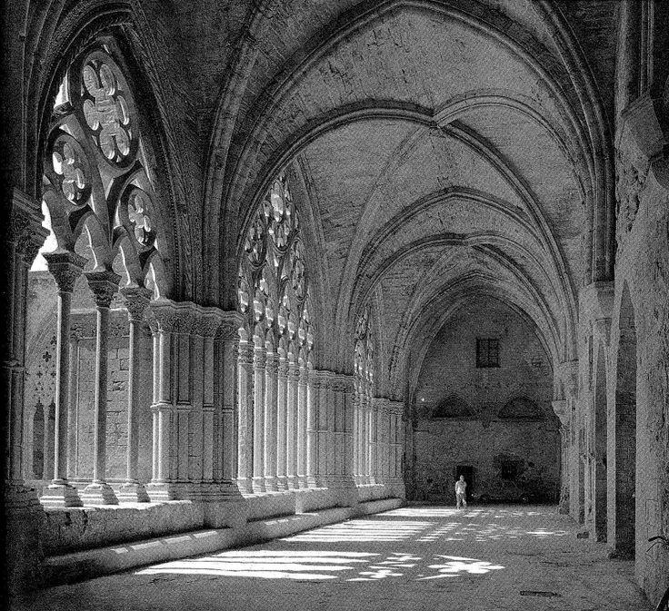 Claustre de la seu vella de lleida (Faculty of the Old Cathedral of Lleida) | Francesc Català-Roca