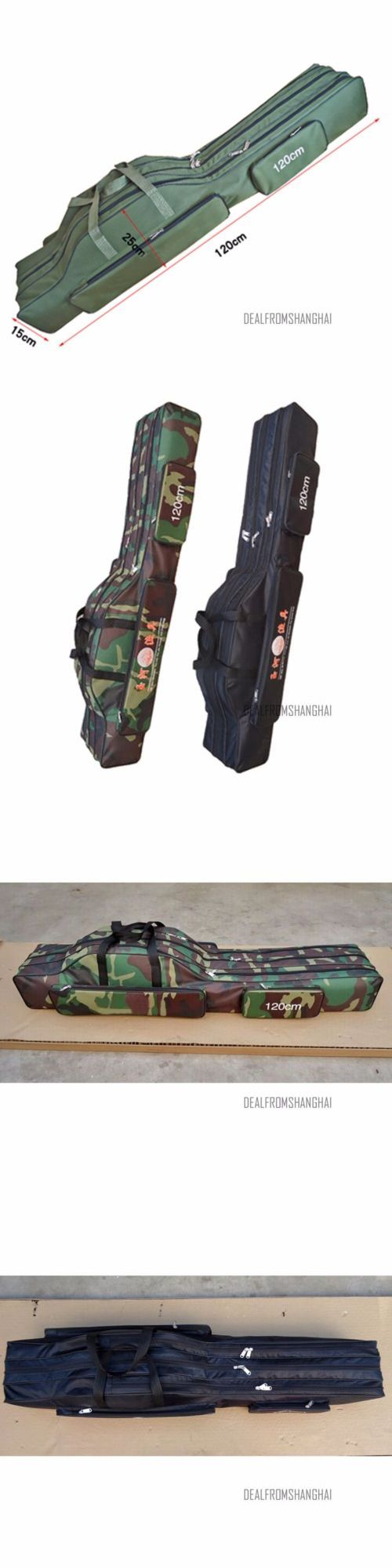Rod Cases Tubes and Racks 81473: Fishing Rod Tackle Bag Case Carry Padded Holder Luggage Holdall Portable Outdoor -> BUY IT NOW ONLY: $37.99 on eBay!