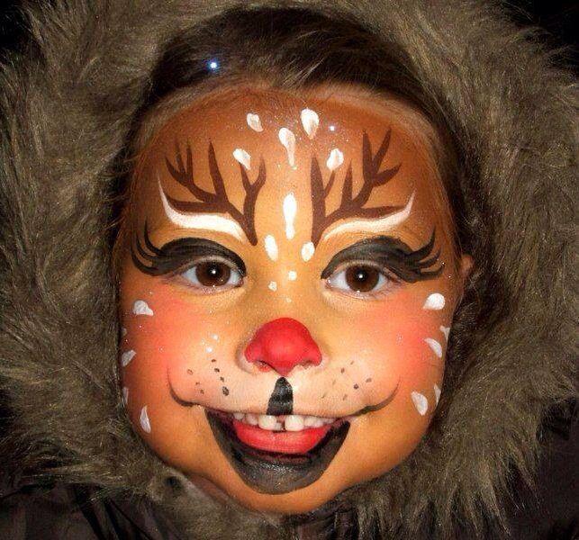 Maquillaje de reno