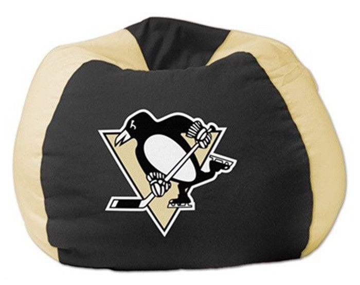 Pittsburgh Penguins NHL Bean Bag Chair - Sports Fans Plus