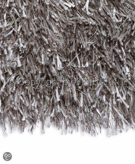 Arte Espina Vloerkleed - Zilver - 200 cm x 200 cm