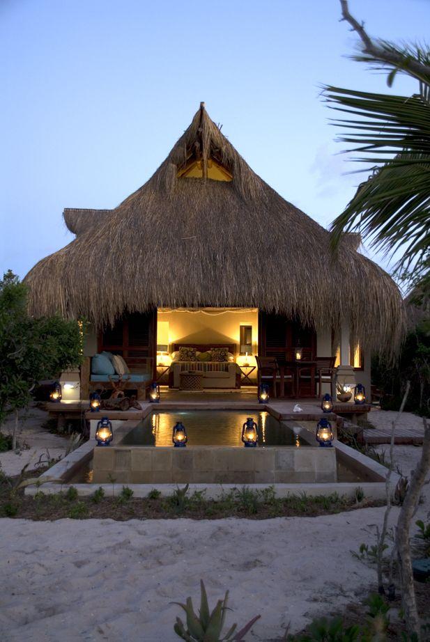 Love the Azura boutique hotel on Mozambique's Benguerra Island--so romantic!