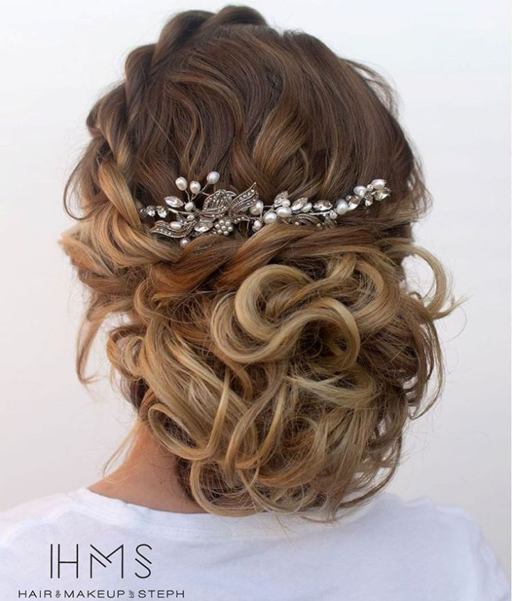 Curly Wedding Hairstyles: Best 25+ Loose Curly Updo Ideas On Pinterest