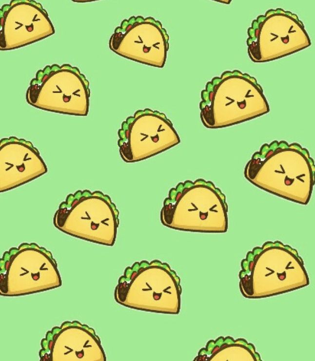 Pin By Christina Karakoula On Wallpapers Taco Wallpaper Cute Food Wallpaper Food Wallpaper