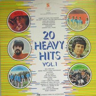 Various - Vol. 1 20 Heavy Hits (Vinyl, LP) at Discogs  1971