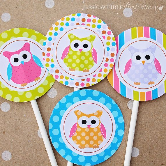 Printable Party Tags