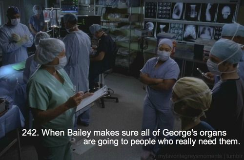 <3...This was one of the first major events to break my heart for real on Grey's Anatomy!..losing George!