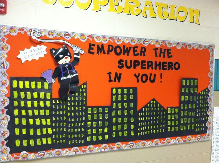1000+ Ideas About Hero Bulletin Board On Pinterest