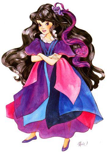 "Duchess RavenWaves. Artwork from ""Lady Lovely Locks"" series."