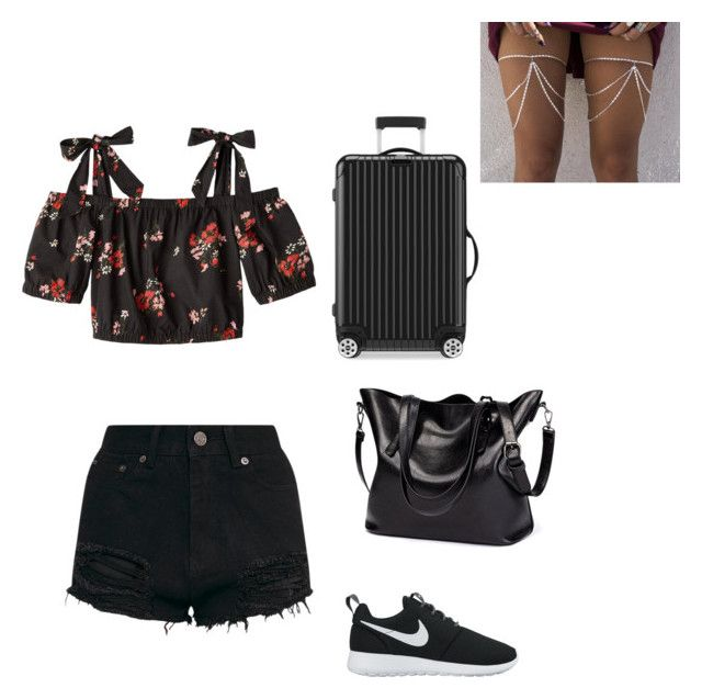 """Untitled #218"" by rekac on Polyvore featuring NIKE and Rimowa"