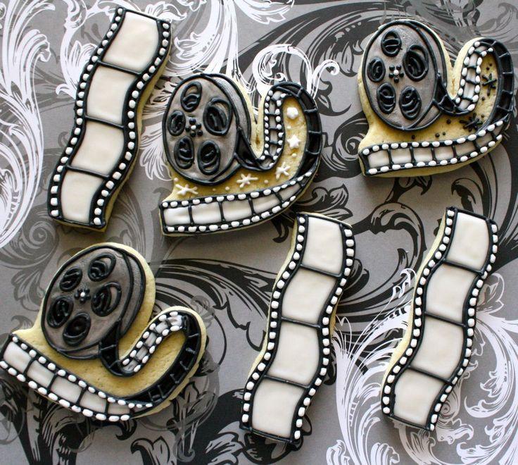 Film Reel Cookies