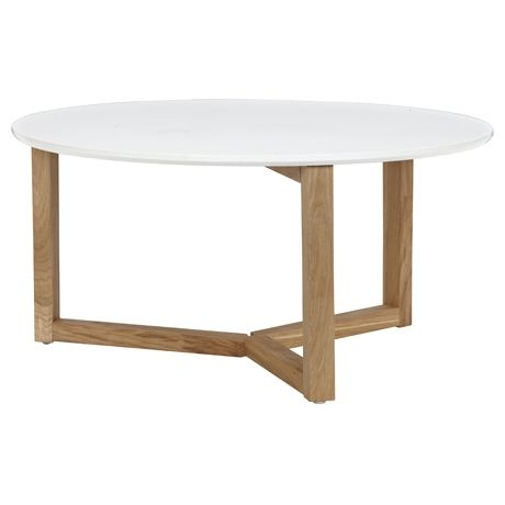Stockholm Coffee Table  Oak/White freedom $299