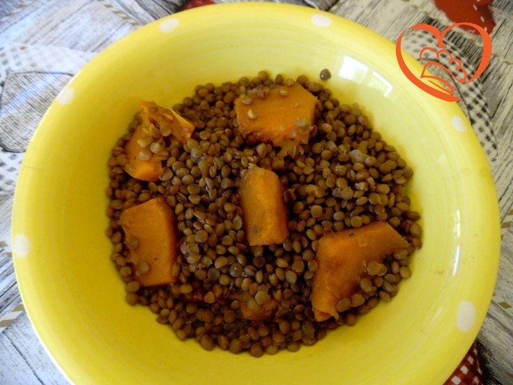 Lenticchie e zucca (no ricetta)