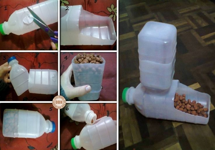 DIY Plastic Bottle Pet Feeder. This is soooo much cheaper than the ones in the stores. GREAT way to feed all the precious stray kitties too!