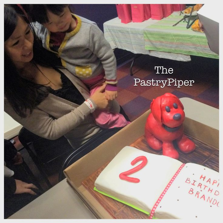 Clifford's Puppy Days Birthday Cake