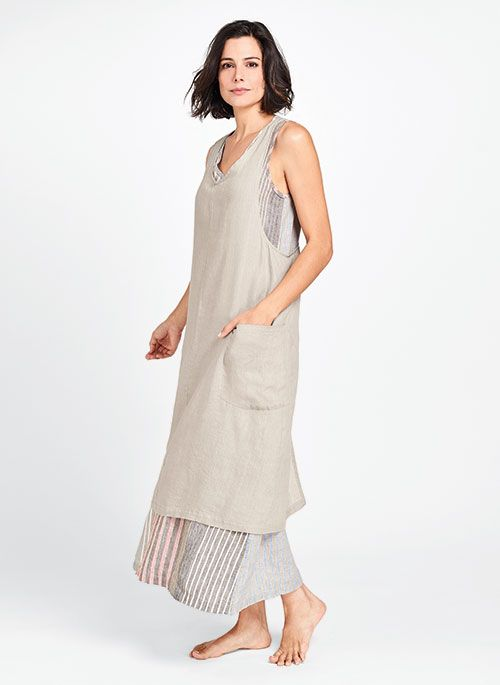 Linen clothing for women comes in many forms, from trousers to suit jackets to skirts, all of which are flattering, sophisticated, and beautiful. Linen itself is a versatile, timeless fabric, evocative of crisp, light-colored clothing that fits wonderfully.
