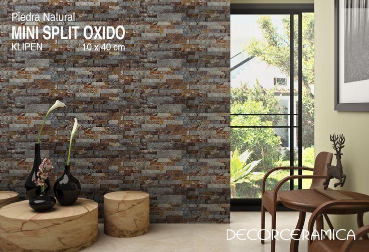 El ÓXIDO no es exclusivo de los metales… para esta temporada llega un enchape de piedra natural con efecto oxidado… No te lo pierdas!