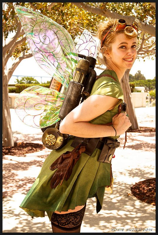 2014 San Diego Comic-Con Cosplay - STEAMPUNK TINKERBELL